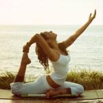 yoga exercise woman