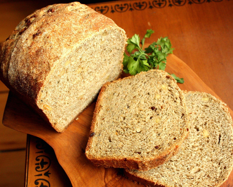 Cilantro-&-Mint-Infused-Wheat-Bread