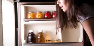 late night snacking fridge