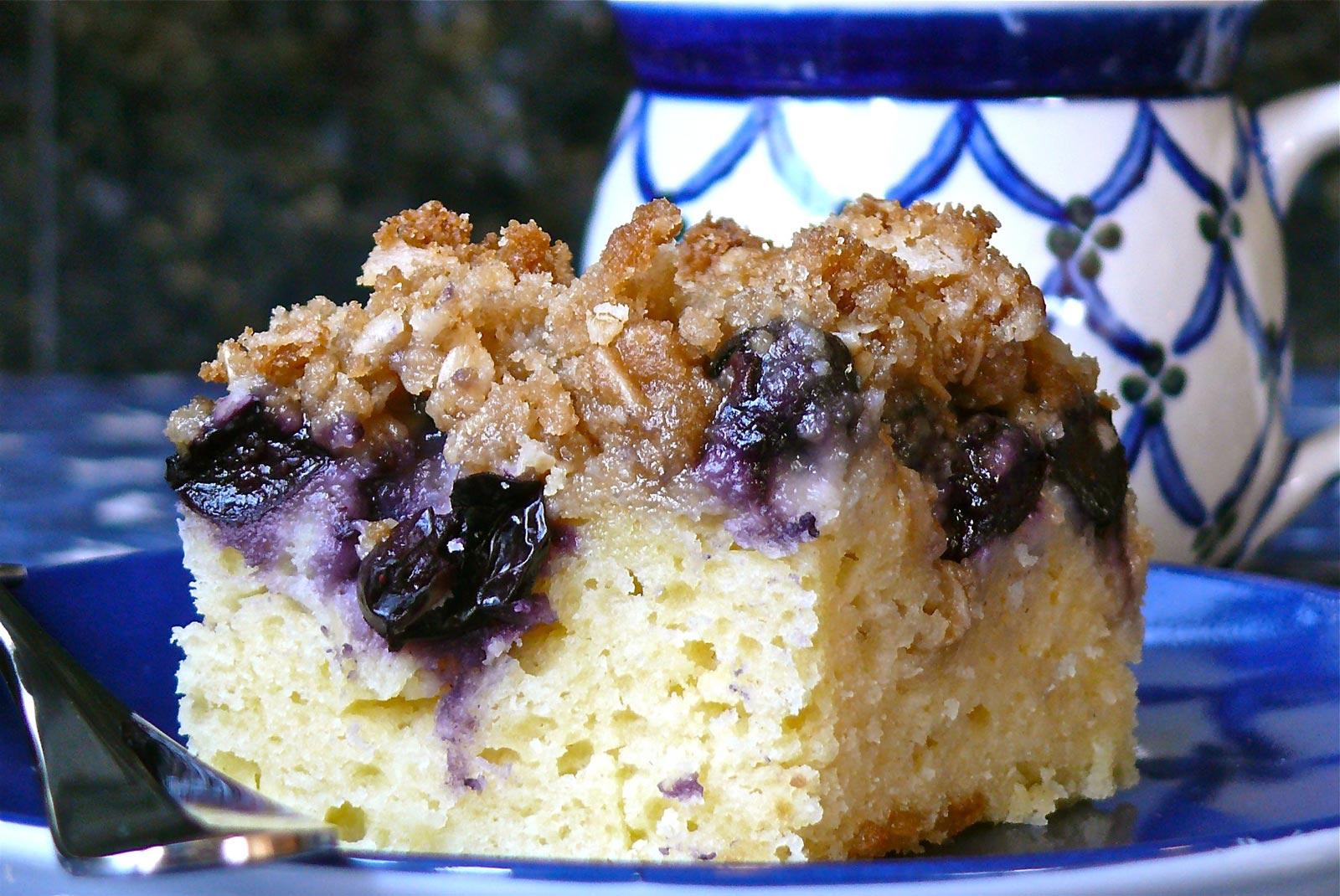 Taste Of Home Blueberry Sour Cream Coffee Cake Recipe