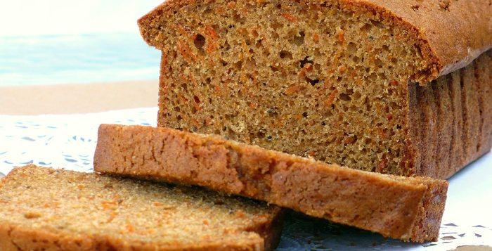 sugar carrot bread
