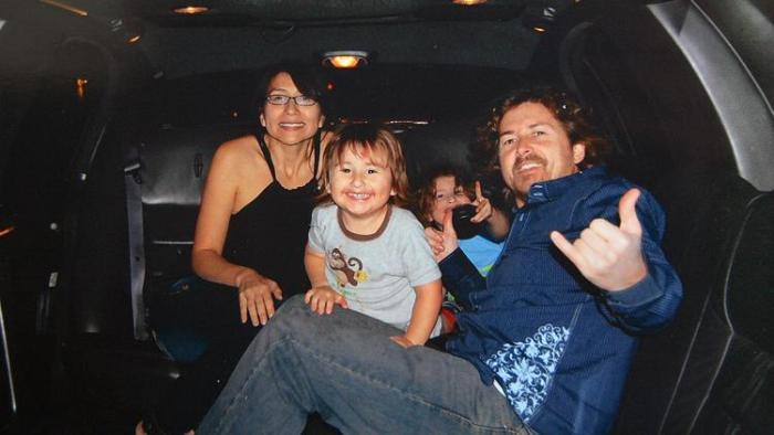 Joseph and Summer McStay are pictured with their two children, Joseph Jr. 3, front, and Gianni, 4. The family piled into their Isuzu Trooper and drove away from their Fallbrook house on Feb. 4, 2010. Then they vanished. (Photo Credit: Christina House/For the Times)