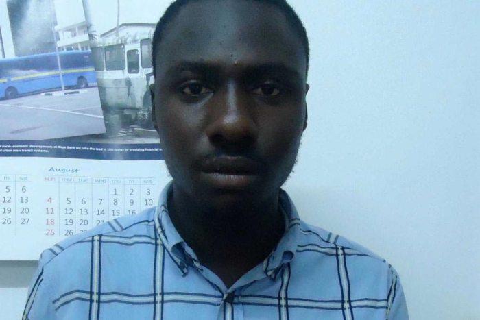 Promise Ntuen (EFCC Photo)