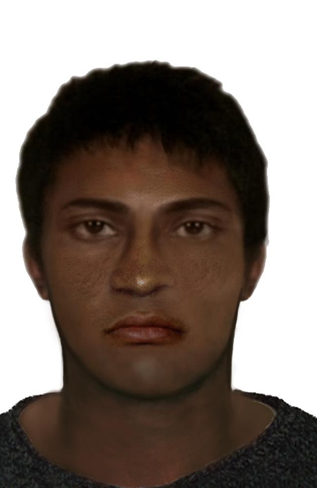 Police have released an image of the man suspected of assaulting the woman, based on her description of him. (Photo Credit: NT News)