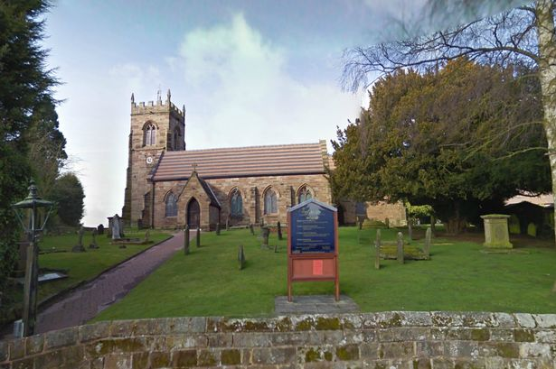 St Nicholas Church at Codsall, London where the coffins of a woman and her daughter recently resurfaced. (Photo Credit: Google)