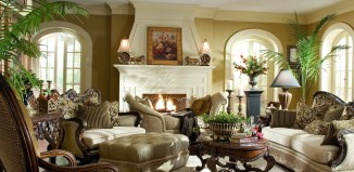 living room home