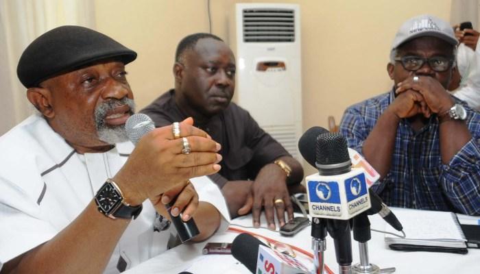 Yemi Osinbajo, Chris Ngige, Abdulaziz Yari, Minimum Wage