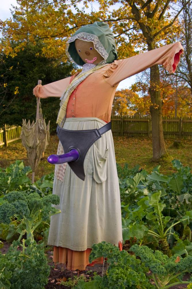 An Argentinian man died while having sex with a scarecrow which he had fitted with a six-inch strap-on penis. (Photo Credit: Getty)