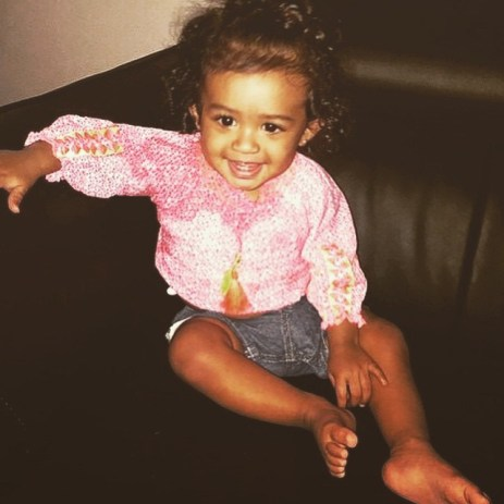 Chris Brown's Daughter, Royalty (Photo Credit: Chris Brown/Instagram)