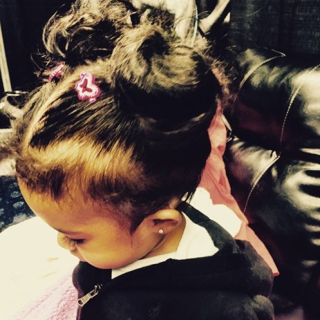 Chris Brown's Daughter,named Royalty (Photo Credit: Chris Brown/Instagram)