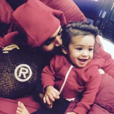 Chris Brown with his Daughter,named Royalty (Photo Credit: Chris Brown/Instagram)