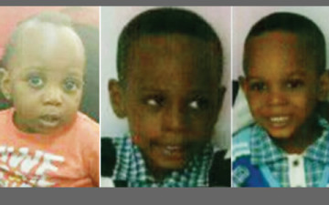 A nanny employed from OLX online sales platform disappeared with her employee's three kids identified as 11-months-old Aderomola, 4-year-old Adedamola and 6-year-old Demola,on Saturday, March 7, 2015 just a day after she was employed in Lagos. (Photo Credit: Punch)