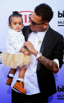 Royalty accompanies Chris Brown as his date to The 2015 billboard music awards
