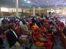 A cross section of the crowd present at the ADF Inaugural Conference and Book Presentation event (Photo Credit: ADF)