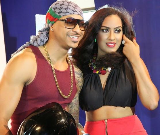 IK Ogbonna and Sonia Lareinaa (photo Credit: Tunez Media)