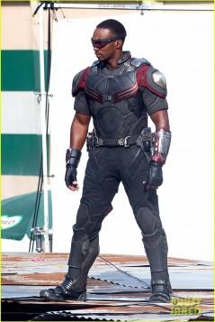 Captain America :Civil War behind the scenes (Photo Credit:comicbook.com)