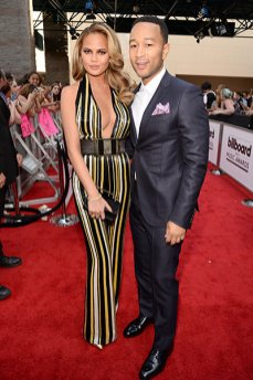 Chrissy Teigen and John Legend (credit: Getty Images)
