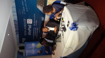 Participants at the launch of the Tecno WinPad 10 (Credit: The Trent)