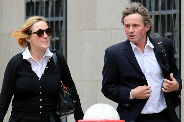 Lisanne Beck and Simon Murphy are accused of engaging in oral sex in Hyde Park (Photo Credit: Central News)