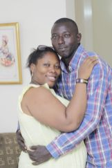 The couple, Mr. and Mrs. Toyin and Babatunde Ojomo (Credit: Stephanie Daily)
