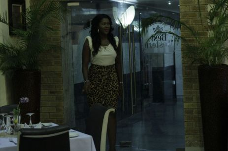 Stephanie Linus arriving at the scene (Credit: Stephanie Daily)