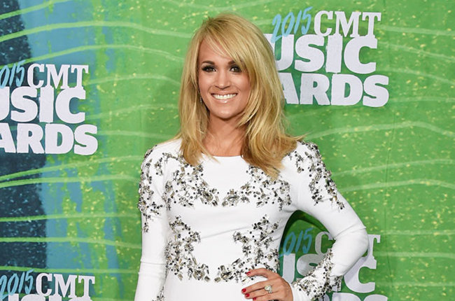 Carrie Underwood at the 2015 CMT Music Awards (Credit: Billboard)