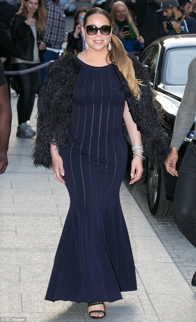 Mariah Carey stepping out in Paris (Credit: GC Images)