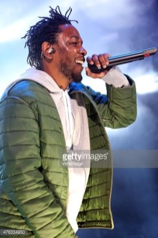 Kendrick Lamar perform at the 2015 Summer Jam (Credit: Getty Images)