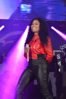 Nicki Minaj perform at the 2015 Summer Jam (Credit: Joe Chea/Hot 97)