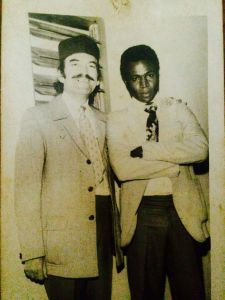Onyeka Nwelue's father (right) and an associate in an undated photo (Photo Credit: Onyeka Nwelue/Facebook)