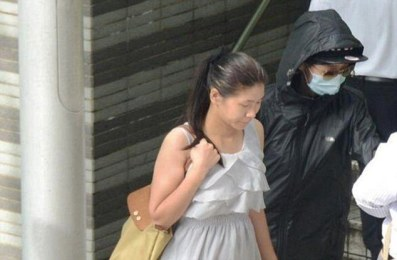 Yang Hao,19, of Hong Kong Baptist University was caught having sex with an 18-year-old lady, Wu Xinyi from China, outside the Hong Kong Polytechnic University in Ho Man Tin, where she is a student. (Photo Credit: Mail Online)