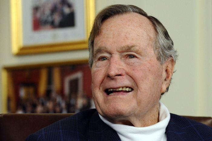 Former US President George H. W. Bush