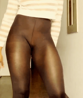 Singer Maheeda shared this raunchy video where she was dancing to a song in an extremely see through leggings.