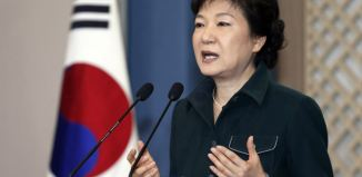 South Korea's President Park Geun-hye