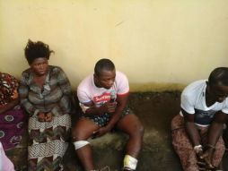 """Notorious kidnapper identified as Henry Chibueze aka """"Vampire"""" arrested after a failed attempt to kidnap judges of the Imo state tribunal who were lodged at Disney Hotels, along Onitsha Owerri Road recently."""