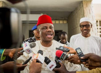 Biafra Governor Willie Obiano Muhammadu Buhari Aso Rock