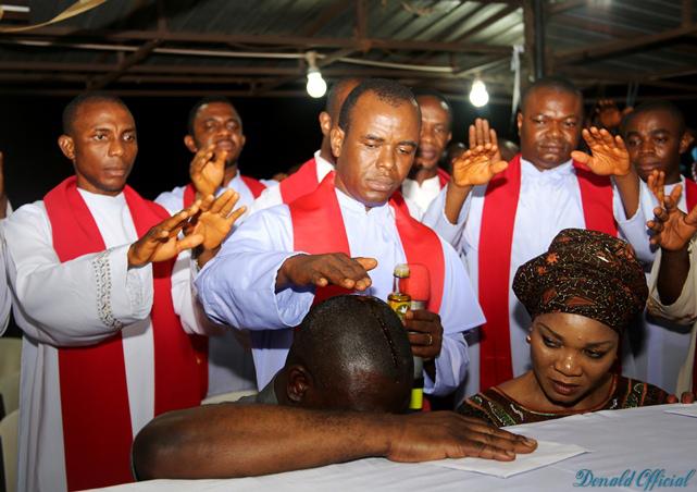 Deputy SenateEjike Mbaka, Father Mbaka President, Ike Ekweremadu