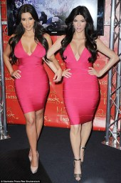 the first Kim Kardashian wax figure unveiled in 2010 in New York (Credit: Getty Images)