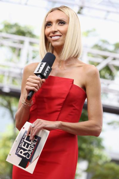 37-year-old Maria Menounos replaces 40-year-old Giuliana Rancic,(Pictured) as new host of E!News officially from Monday, August 10, 2015.