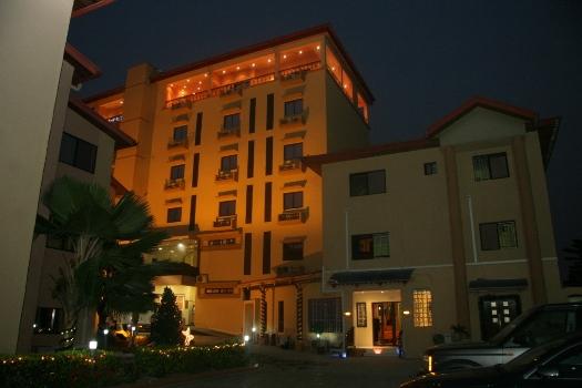 Kanu Nwankwo's Hardley Apartments located in Victoria Island, Lagos