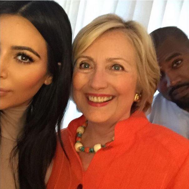 Kim-Hillary-Kanye