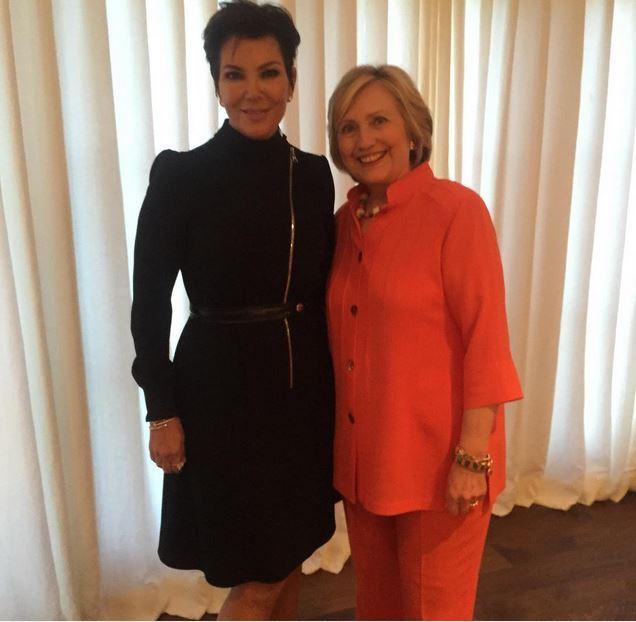 Kris-Jenner-Hilary-Clinton