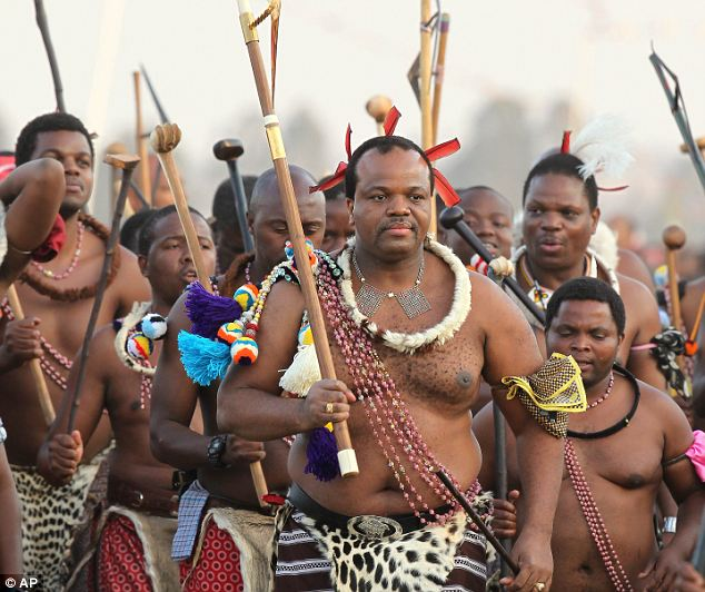 Naked swaziland girls