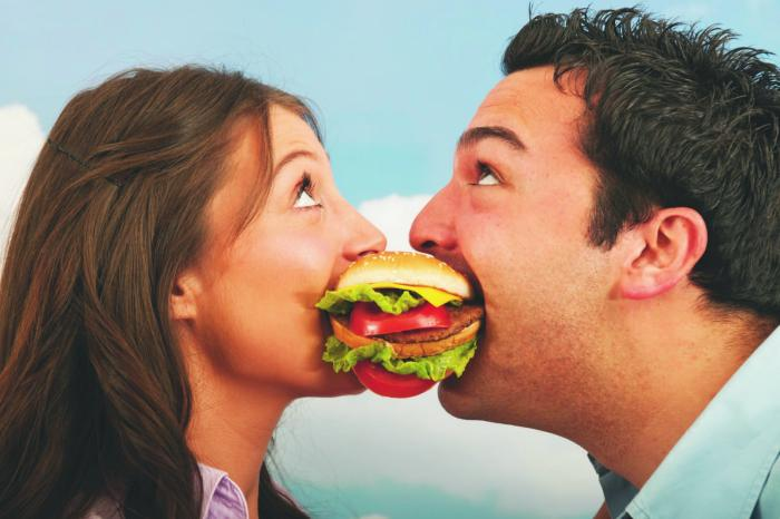 couple food fighting disorder