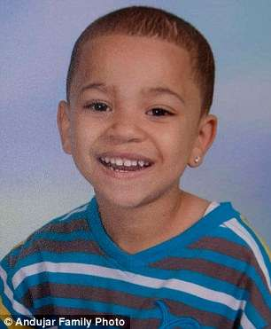 6-year-old, Dominick Andujar who died while saving his sister from being raped in Camden, New Jersey.