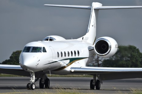 The new customised Gulfstream reportedly acquired by Pastor Enoch Adeboye of the Redeemed Christian Church of God (RCCG)