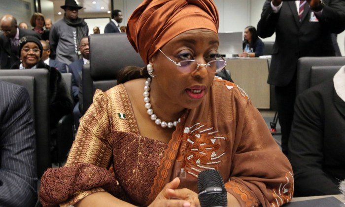 'People point to those, like Diezani Alison-Madueke, the former minister of petroleum resources, who was arrested for corruption and bribery earlier this month to show women ministers are corrupt.' | Ronald Zak/AP
