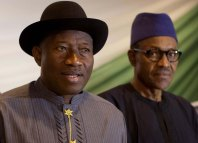 Nigeria President Goodluck Jonathan Niger Delta Muhammadu Buhari APC PDP