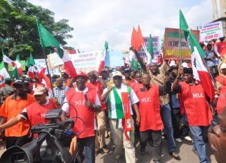 Joe Ajaero, President Muhammadu Buhari, NLC