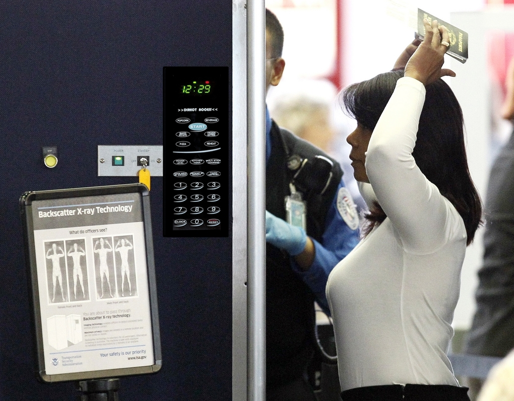 Woman Arrested In Us Airport After Airport Scan Shows She